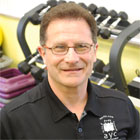 Greg Justice, personal trainer, corporate wellness expert