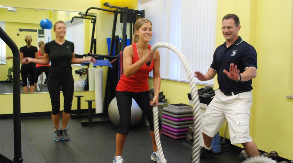 Greg Justice training session