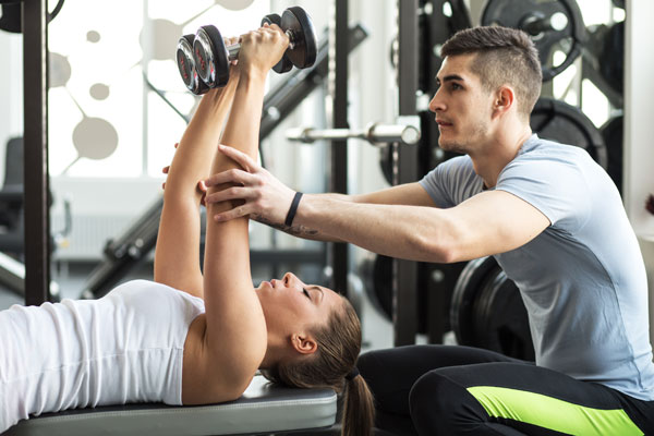personal trainer workout