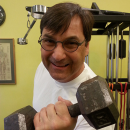 Paul Wrablica trains at AYC Health and Fitness.