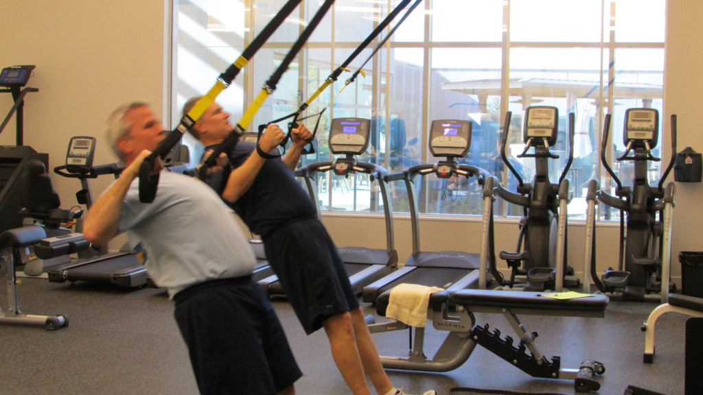 Epiq Systems TRX training