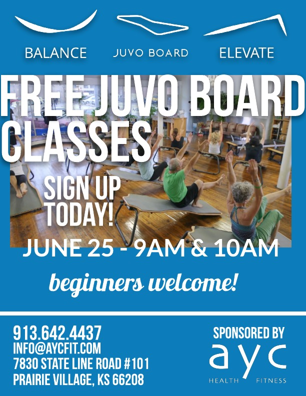 Free Juvo Board Classes June 25th